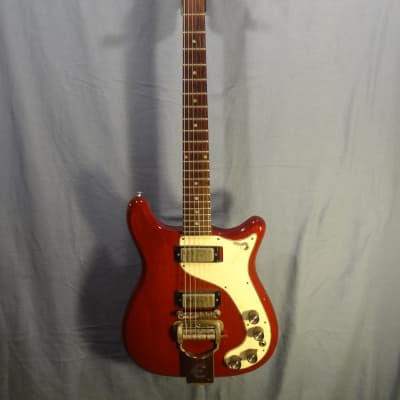 Epiphone Wilshire 1965 Cherry w/ Super Rare Phantomatic, HSC for sale