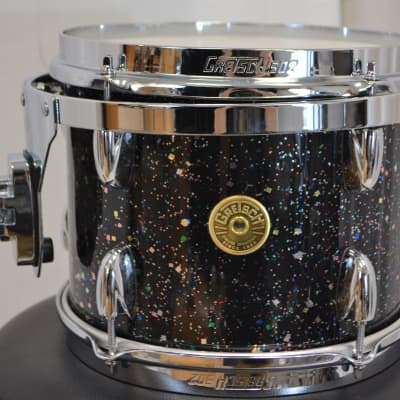 "Gretsch 8x10"" Broadkaster Tom Drum - Mardi Gras"