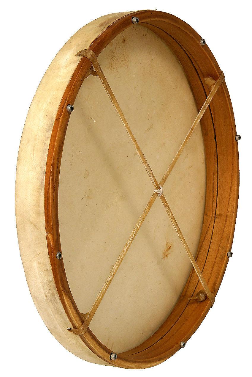 dobani fd18t tunable goatskin head wooden frame drum with reverb. Black Bedroom Furniture Sets. Home Design Ideas