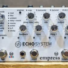 Empress Effects Echosystem Dual Engine Delay Electric Guitar Effect Pedal