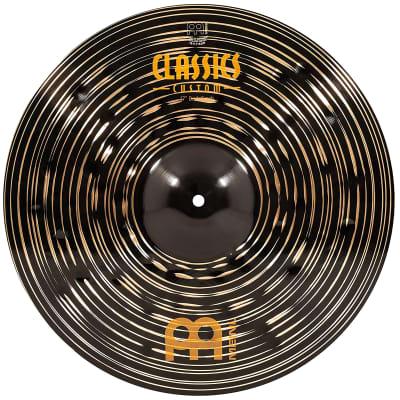 "Meinl 17"" Classics Custom Dark Crash Cymbal 2019"