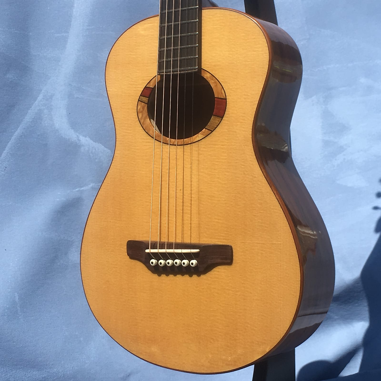 Laughlin RRL Koa Small Body Parlor Guitar