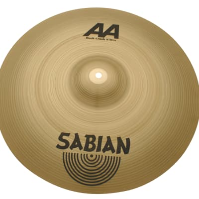 "Sabian  19"" AA Rock Crash Brilliant Finish 21909B"