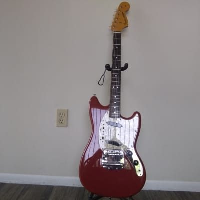 Fender Mustang '69 Reissue CIJ 2006 Dakota Red HS Case. for sale