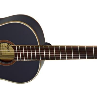 Ortega Family Series Gloss Full Size Black Acoustic Guitar Spruce for sale