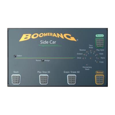 Boomerang Side Car III Phrase Sampler Controller Pedal