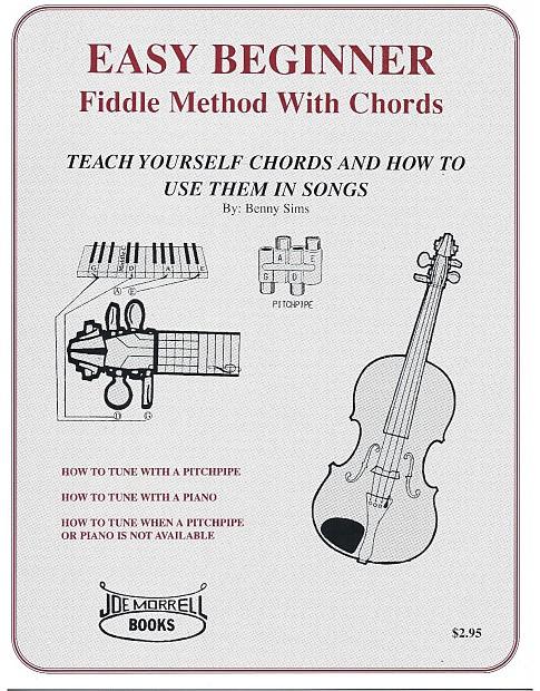 Easy Beginner Fiddle Method Instruction Book: Beginner's Guide to Violin
