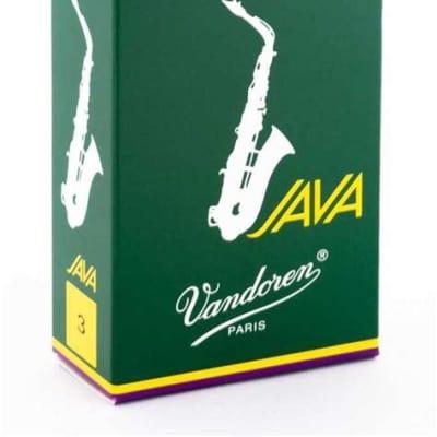 Vandoren SR263 Java Alto Saxophone Reeds - Strength 3 (Box of 10)