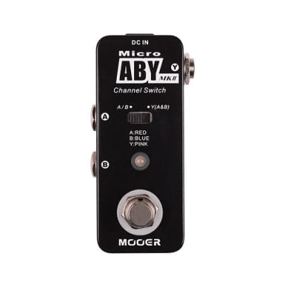 Mooer Micro ABY MKII Channel Switcher for sale