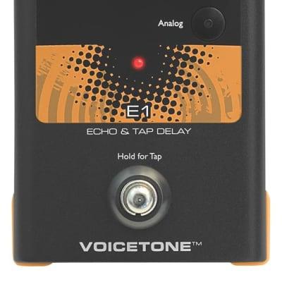 TC-Helicon VoiceTone E1 Vocal Echo and Delay Effect Pedal VT-E1