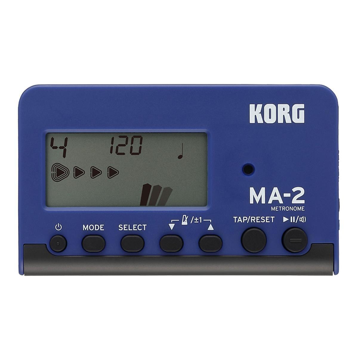 Korg MA-2 Digital Metronome Blue