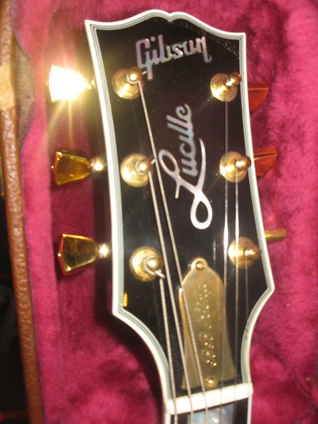 used gibson gibson 1997 b b king lucille electric guitar reverb. Black Bedroom Furniture Sets. Home Design Ideas