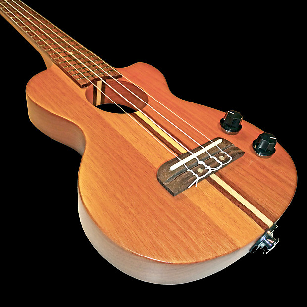 teton steu102t tenor electric solid body ukulele with jacks reverb