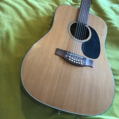 Dallas 9404 Natural 12 string guitar for sale