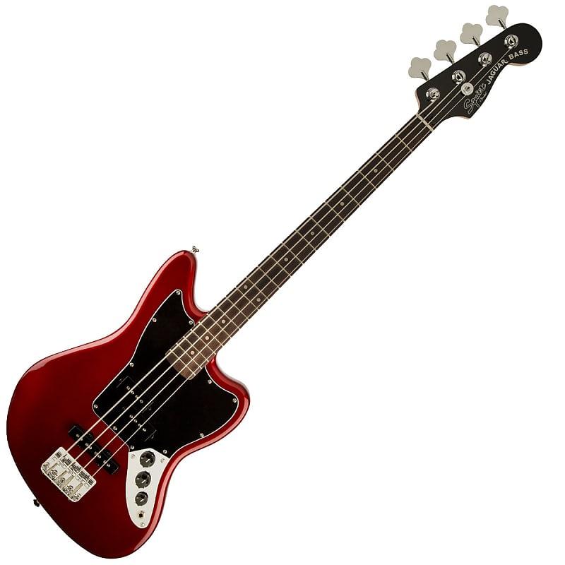 squier vm jaguar bass special ss red reverb. Black Bedroom Furniture Sets. Home Design Ideas