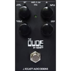 J Rockett Audio Designs Tour Series The Dude Overdrive Guitar Effect Pedal for sale