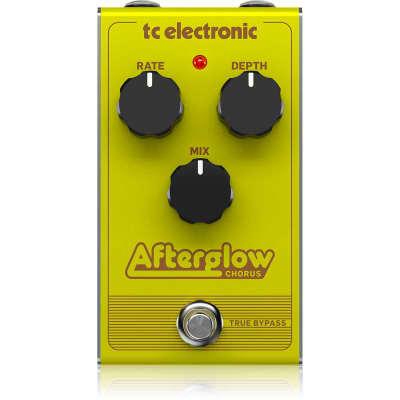 NEW TC Electronic Afterglow Chorus Pedal