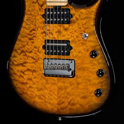 Music Man Premier Dealer John Petrucci Quilted Vintage Tobacco Burst (985)