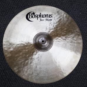 "Bosphorus 22"" Jazz Master Series Ride Cymbal"