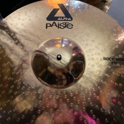 "Paiste 20"" Alpha Rock Ride Cymbal"