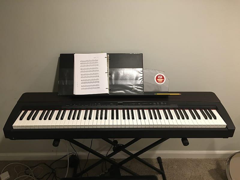 Yamaha P140 88 key Piano Keyboard 2006 Black   Michael's ...