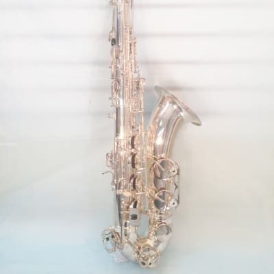 Musikwerks-Silver Plated Tenor Saxophone-Intermediate Level-New-w/Shop Warranty!