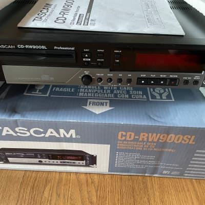 TASCAM CD-RW 900SL Black