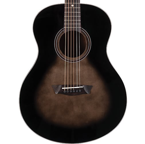 Washburn Bella Tono Novo S9 Acoustic Guitar Gloss Charcoal Burst