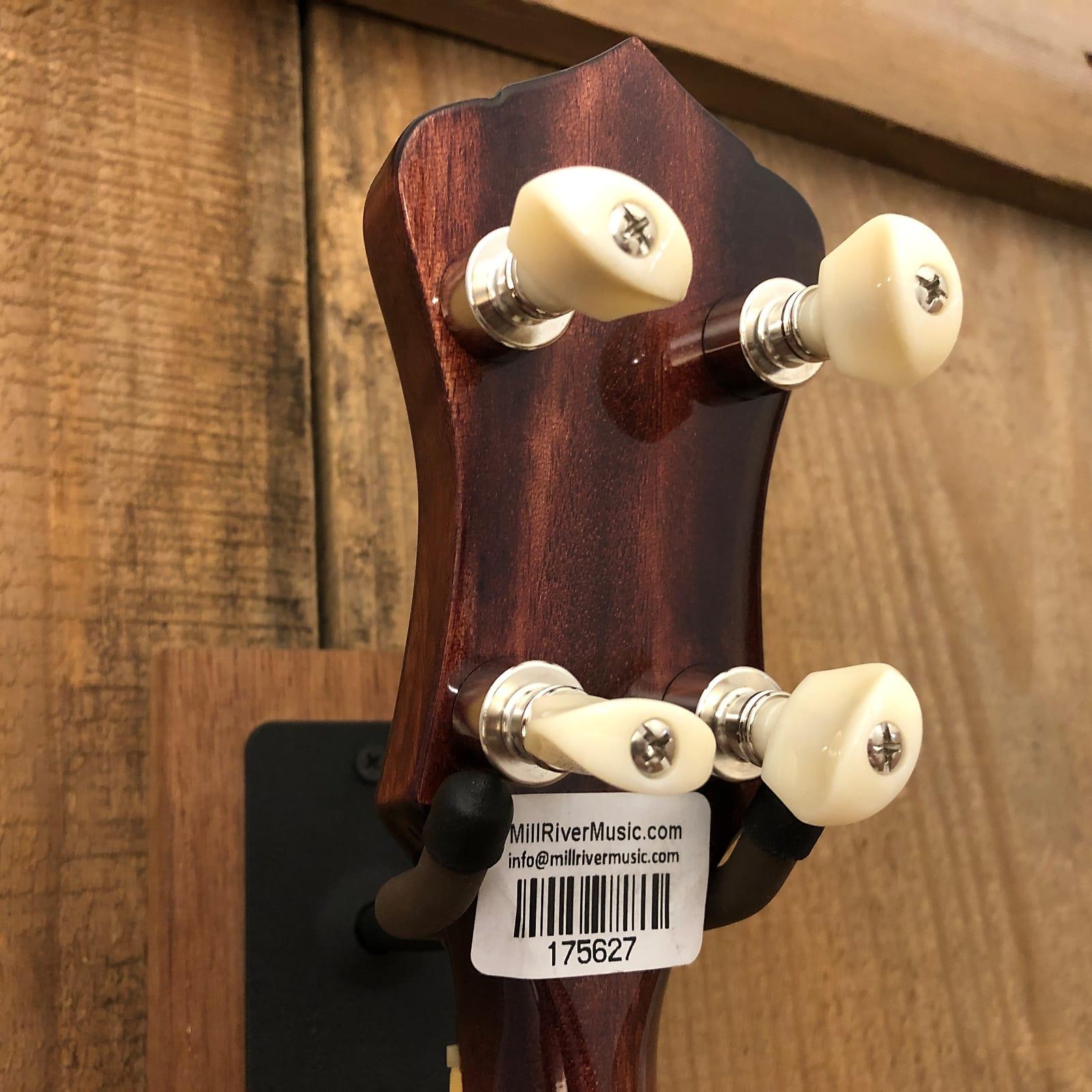 Recording King RK-T36-BR Madison 4-String Tenor Resonator Banjo Mahogany w/ OHSC