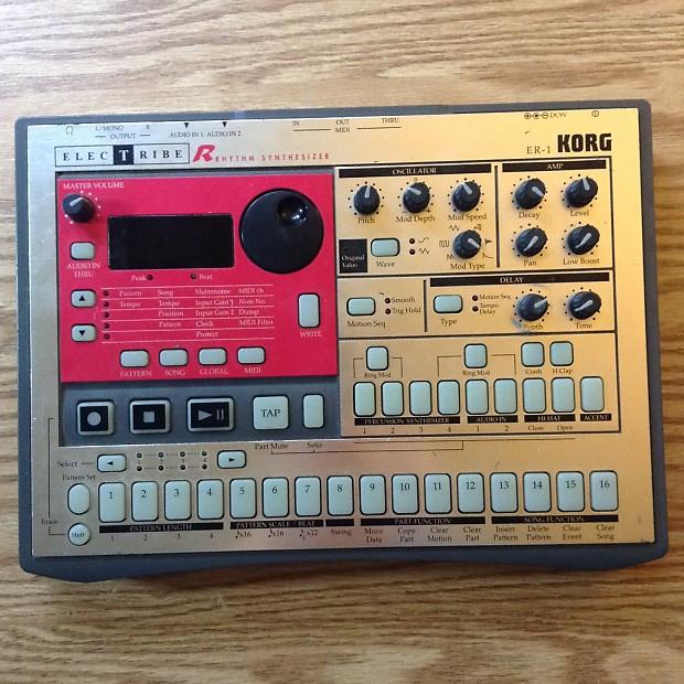 Korg Electribe ER-1 Drum Machine / Sequencer   Caleb Music