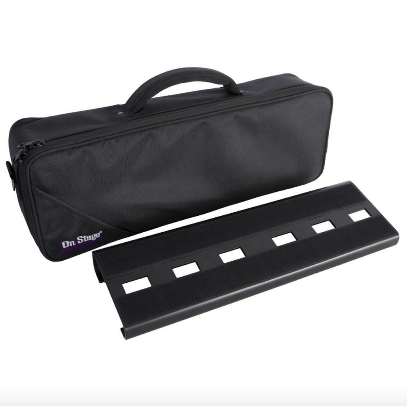 On-Stage GPB2000 Compact Mini Pedalboard w/ Bag