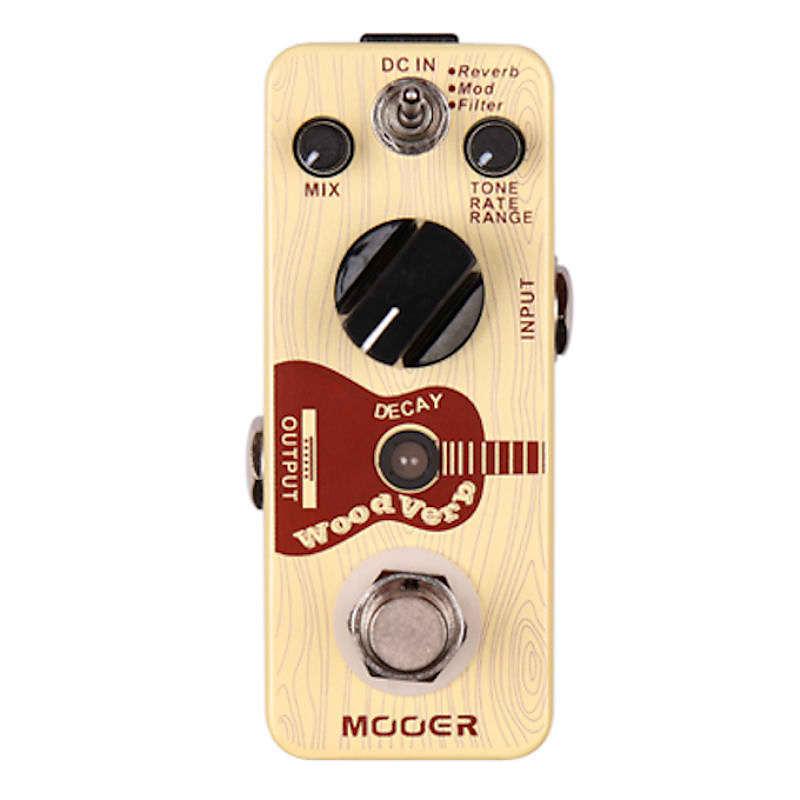 mooer woodverb acoustic guitar reverb mod filter pedal reverb. Black Bedroom Furniture Sets. Home Design Ideas