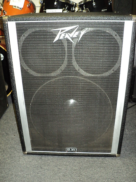 Peavey 1810 Bass Speaker Cabinet With One 18