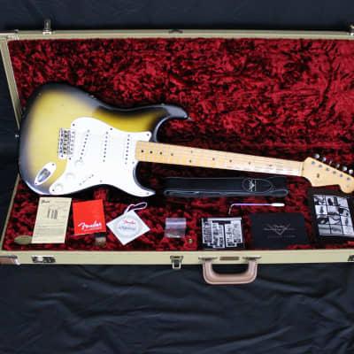 Fender Custom Shop '56 Stratocaster Relic Time Machine 2004 Sunburst for sale