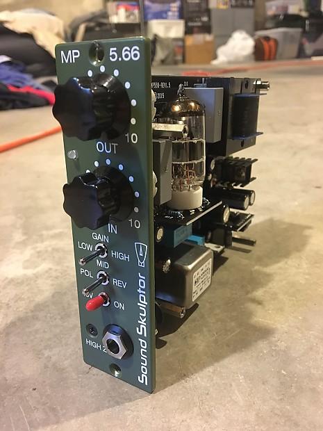 Sound Skulptor MP566 Tube Preamp (500 Series) *Brand New*