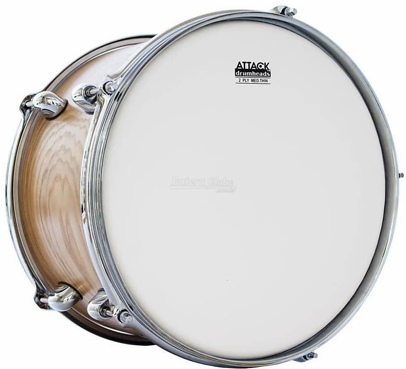 attack 20 2 ply medium thin coated bass drum head reverb. Black Bedroom Furniture Sets. Home Design Ideas