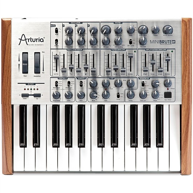 arturia minibrute se analog synthesizer reverb. Black Bedroom Furniture Sets. Home Design Ideas