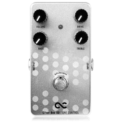 One Control Silver Bee OD Overdrive BJFe Series Guitar Effects Pedal