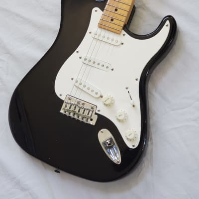 1993 Peavey USA Predator Stratocaster Vintage Electric Guitar - Black Finish With Maple Fretboard for sale