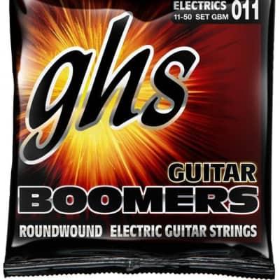 GHS Boomers Medium Electric Guitar Strings .011-.050