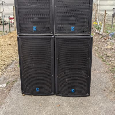 Yorkville U15PB & UCS1P - Complete Unity Series Powered PA System  w/ padded covers U15p