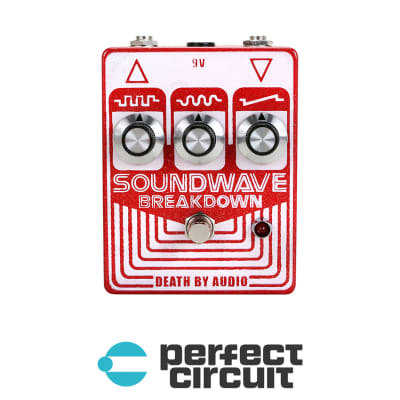 Death By Audio Soundwave Breakdown Fuzz / Distortion