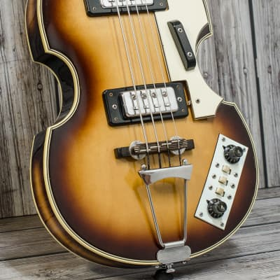 1970's Antoria (Japanese Made) Violin Bass Inc. Case for sale
