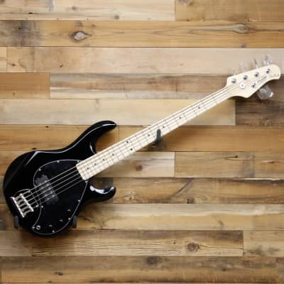 Sterling by Music Man S.U.B. StingRay5 Ray5-BK 5-String Electric Bass Black