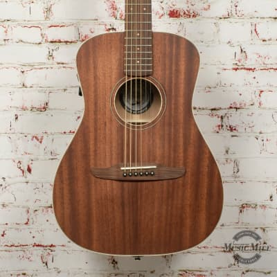 Fender Malibu Special Acoustic Electric Guitar with Bag, All Mahogany, Pau Ferro Fingerboard, Natura for sale