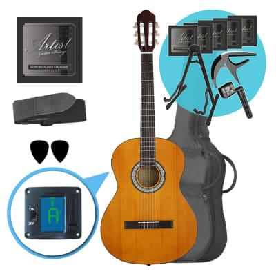 Artist CL44SPKAM Ultimate Beginner Classical Guitar Pack for sale