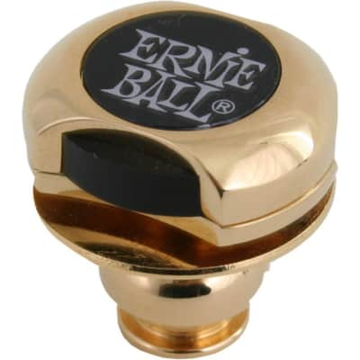 Ernie Ball Super Locks in Gold, Nickel Plated Steel, Secure Connection, P04602