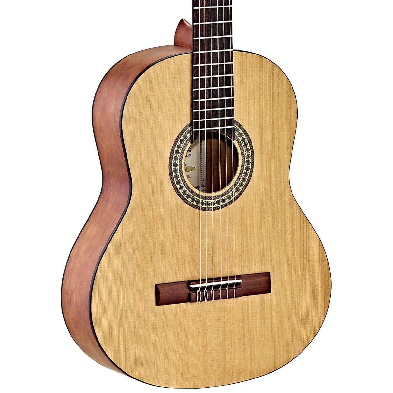 Ortega Student Series Cedar Top Nylon String Acoustic Guitar RSTC5M