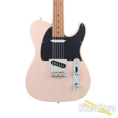 Suhr Classic T Paulownia Trans Shell Pink Guitar #JS9M8L