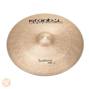 "Istanbul Agop 20"" Traditional Thin Crash"